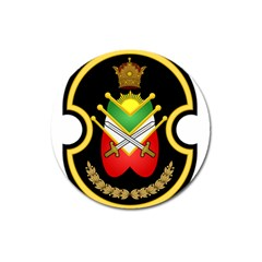Shield Of The Imperial Iranian Ground Force Magnet 3  (round)