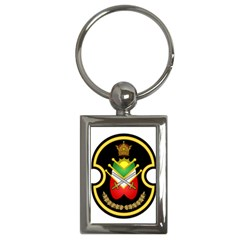 Shield Of The Imperial Iranian Ground Force Key Chains (rectangle)