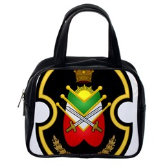 Shield Of The Imperial Iranian Ground Force Classic Handbags (one Side)