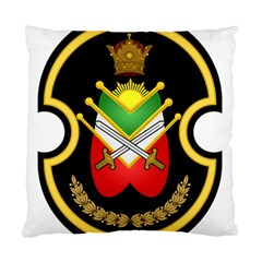 Shield Of The Imperial Iranian Ground Force Standard Cushion Case (two Sides)