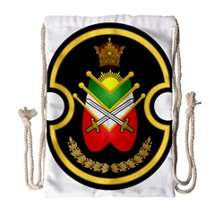 Shield Of The Imperial Iranian Ground Force Drawstring Bag (large)