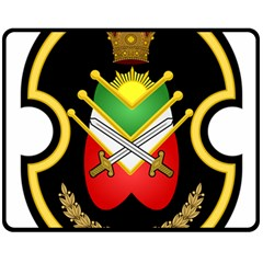 Shield Of The Imperial Iranian Ground Force Fleece Blanket (medium)