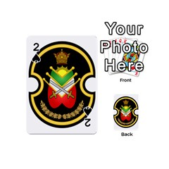 Shield Of The Imperial Iranian Ground Force Playing Cards 54 (mini)