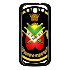 Shield Of The Imperial Iranian Ground Force Samsung Galaxy S3 Back Case (black)