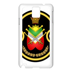 Shield Of The Imperial Iranian Ground Force Samsung Galaxy Note 3 N9005 Case (white)