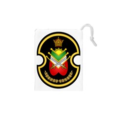 Shield Of The Imperial Iranian Ground Force Drawstring Pouches (xs)