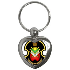 Shield Of The Imperial Iranian Ground Force Key Chains (heart)