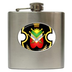 Shield Of The Imperial Iranian Ground Force Hip Flask (6 Oz)