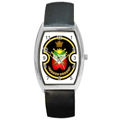 Shield Of The Imperial Iranian Ground Force Barrel Style Metal Watch