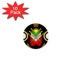 Shield Of The Imperial Iranian Ground Force 1  Mini Buttons (10 Pack)