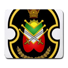 Shield Of The Imperial Iranian Ground Force Large Mousepads