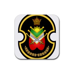 Shield Of The Imperial Iranian Ground Force Rubber Coaster (square)