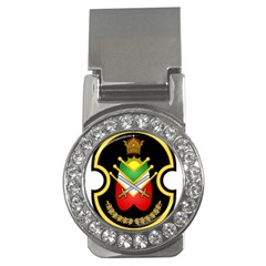 Shield Of The Imperial Iranian Ground Force Money Clips (cz)