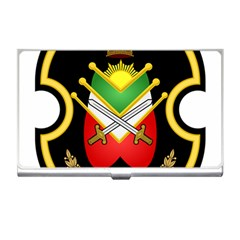 Shield Of The Imperial Iranian Ground Force Business Card Holders