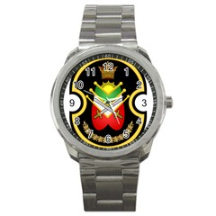 Shield Of The Imperial Iranian Ground Force Sport Metal Watch