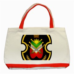 Shield Of The Imperial Iranian Ground Force Classic Tote Bag (red)