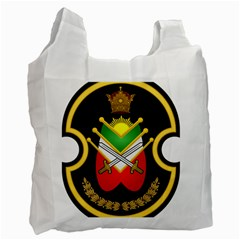 Shield Of The Imperial Iranian Ground Force Recycle Bag (two Side)