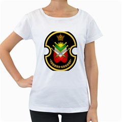 Shield Of The Imperial Iranian Ground Force Women s Loose Fit T Shirt (white)