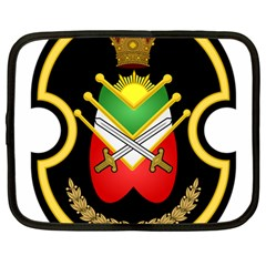 Shield Of The Imperial Iranian Ground Force Netbook Case (large)
