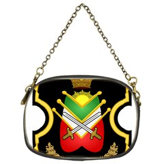 Shield Of The Imperial Iranian Ground Force Chain Purses (one Side)