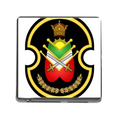 Shield Of The Imperial Iranian Ground Force Memory Card Reader (square)
