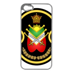 Shield Of The Imperial Iranian Ground Force Apple Iphone 5 Case (silver)