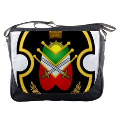 Shield Of The Imperial Iranian Ground Force Messenger Bags