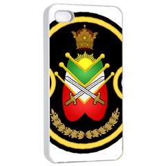 Shield Of The Imperial Iranian Ground Force Apple Iphone 4/4s Seamless Case (white)