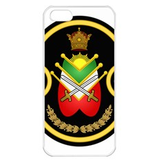 Shield Of The Imperial Iranian Ground Force Apple Iphone 5 Seamless Case (white)