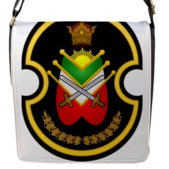 Shield Of The Imperial Iranian Ground Force Flap Messenger Bag (s)