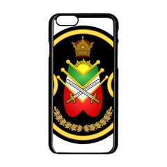 Shield Of The Imperial Iranian Ground Force Apple Iphone 6/6s Black Enamel Case