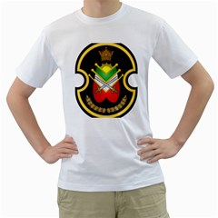 Shield Of The Imperial Iranian Ground Force Men s T Shirt (white)