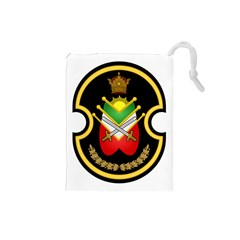 Shield Of The Imperial Iranian Ground Force Drawstring Pouches (small)