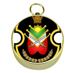 Shield Of The Imperial Iranian Ground Force Gold Compasses