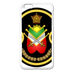 Shield Of The Imperial Iranian Ground Force Apple Iphone 6 Plus/6s Plus Enamel White Case