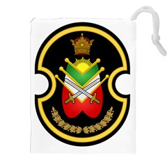 Shield Of The Imperial Iranian Ground Force Drawstring Pouches (xxl)