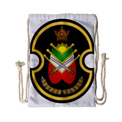 Shield Of The Imperial Iranian Ground Force Drawstring Bag (small)