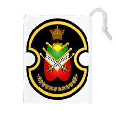 Shield Of The Imperial Iranian Ground Force Drawstring Pouches (extra Large)