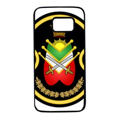 Shield Of The Imperial Iranian Ground Force Samsung Galaxy S7 Black Seamless Case