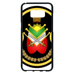 Shield Of The Imperial Iranian Ground Force Samsung Galaxy S8 Plus Black Seamless Case
