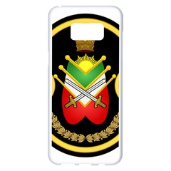 Shield Of The Imperial Iranian Ground Force Samsung Galaxy S8 Plus White Seamless Case
