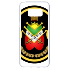 Shield Of The Imperial Iranian Ground Force Samsung Galaxy S8 White Seamless Case
