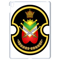 Shield Of The Imperial Iranian Ground Force Apple Ipad Pro 9 7   White Seamless Case