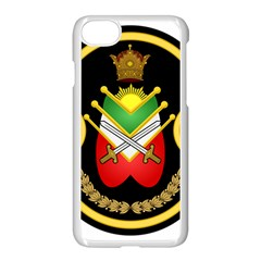 Shield Of The Imperial Iranian Ground Force Apple Iphone 8 Seamless Case (white)