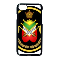 Shield Of The Imperial Iranian Ground Force Apple Iphone 8 Seamless Case (black)