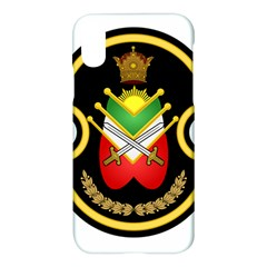 Shield Of The Imperial Iranian Ground Force Apple Iphone X Hardshell Case