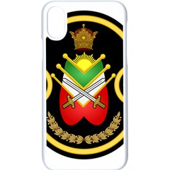 Shield Of The Imperial Iranian Ground Force Apple Iphone X Seamless Case (white)