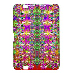 Flower Wall With Wonderful Colors And Bloom Kindle Fire Hd 8 9