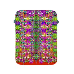 Flower Wall With Wonderful Colors And Bloom Apple Ipad 2/3/4 Protective Soft Cases