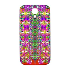 Flower Wall With Wonderful Colors And Bloom Samsung Galaxy S4 I9500/i9505  Hardshell Back Case